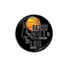 Basketball is my life Hat Clip Ball Marker (4 pack)