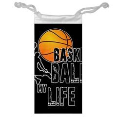 Basketball is my life Jewelry Bag