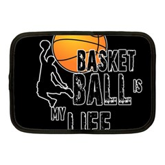 Basketball is my life Netbook Case (Medium)