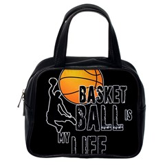 Basketball is my life Classic Handbags (One Side)