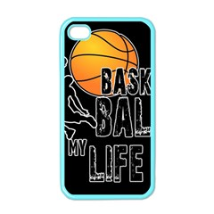 Basketball is my life Apple iPhone 4 Case (Color)