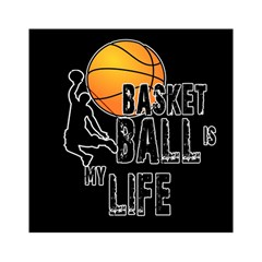 Basketball is my life Acrylic Tangram Puzzle (6  x 6 )