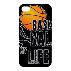 Basketball is my life Apple iPhone 4/4S Premium Hardshell Case