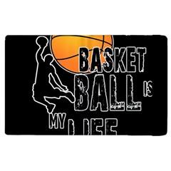 Basketball is my life Apple iPad 2 Flip Case