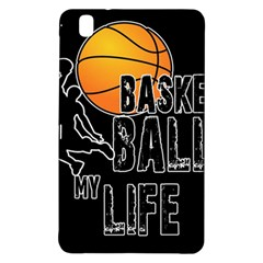 Basketball is my life Samsung Galaxy Tab Pro 8.4 Hardshell Case
