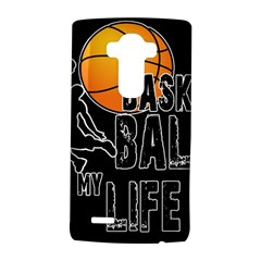 Basketball is my life LG G4 Hardshell Case