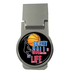 Basketball is my life Money Clips (Round)