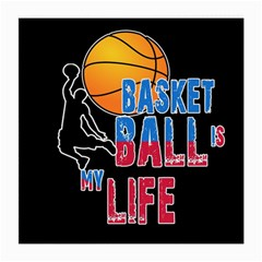 Basketball is my life Medium Glasses Cloth (2-Side)