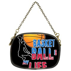 Basketball is my life Chain Purses (One Side)