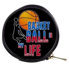 Basketball is my life Mini Makeup Bags