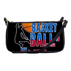Basketball is my life Shoulder Clutch Bags
