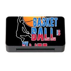 Basketball is my life Memory Card Reader with CF