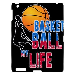 Basketball is my life Apple iPad 3/4 Hardshell Case