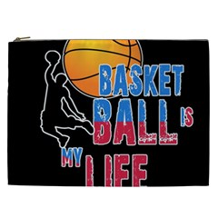 Basketball is my life Cosmetic Bag (XXL)