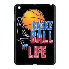 Basketball is my life Apple iPad Mini Case (Black)