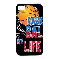 Basketball is my life Apple iPhone 4/4S Hardshell Case with Stand