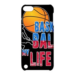 Basketball is my life Apple iPod Touch 5 Hardshell Case with Stand