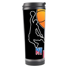 Basketball is my life Travel Tumbler