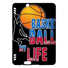 Basketball is my life Kindle Fire HDX Hardshell Case