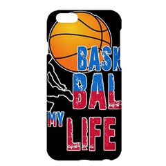 Basketball is my life Apple iPhone 6 Plus/6S Plus Hardshell Case