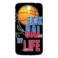 Basketball is my life Samsung Galaxy Mega I9200 Hardshell Back Case