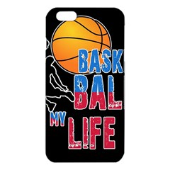 Basketball is my life iPhone 6 Plus/6S Plus TPU Case