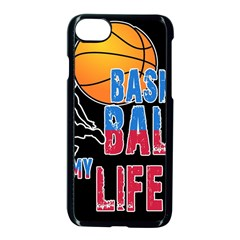 Basketball is my life Apple iPhone 7 Seamless Case (Black)