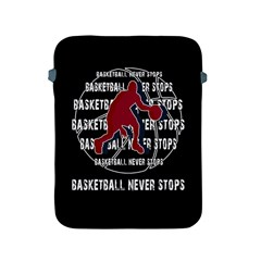 Basketball never stops Apple iPad 2/3/4 Protective Soft Cases
