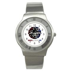 Basketball never stops Stainless Steel Watch