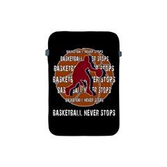 Basketball never stops Apple iPad Mini Protective Soft Cases