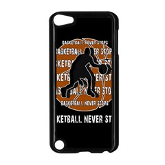 Basketball never stops Apple iPod Touch 5 Case (Black)