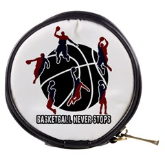 Basketball never stops Mini Makeup Bags
