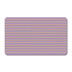 Decorative lines pattern Magnet (Rectangular)