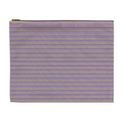 Decorative lines pattern Cosmetic Bag (XL)