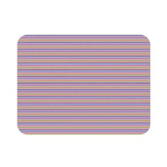Decorative Lines Pattern Double Sided Flano Blanket (mini)