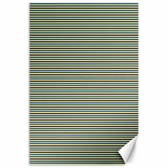 Decorative lines pattern Canvas 24  x 36