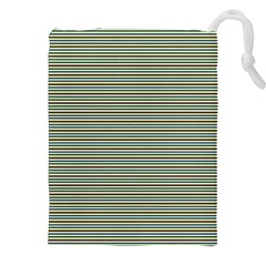 Decorative lines pattern Drawstring Pouches (XXL)