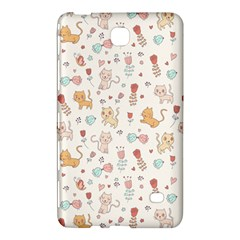 Kittens and birds and floral  patterns Samsung Galaxy Tab 4 (7 ) Hardshell Case