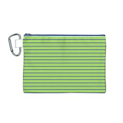 Decorative lines pattern Canvas Cosmetic Bag (M)