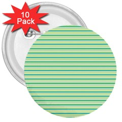 Decorative lines pattern 3  Buttons (10 pack)