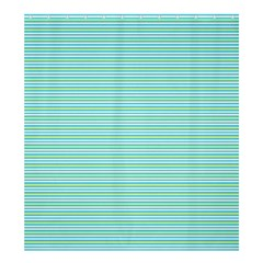 Decorative lines pattern Shower Curtain 66  x 72  (Large)