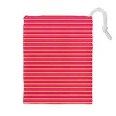 Decorative lines pattern Drawstring Pouches (Extra Large)