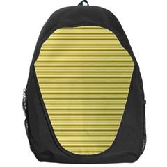 Decorative lines pattern Backpack Bag