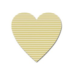 Decorative lines pattern Heart Magnet