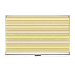 Decorative lines pattern Business Card Holders