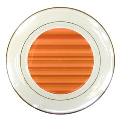 Decorative lines pattern Porcelain Plates