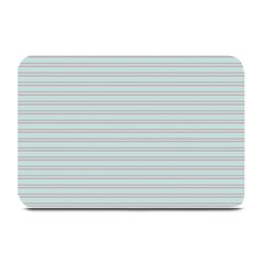 Decorative lines pattern Plate Mats