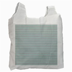 Decorative lines pattern Recycle Bag (One Side)
