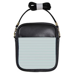 Decorative lines pattern Girls Sling Bags