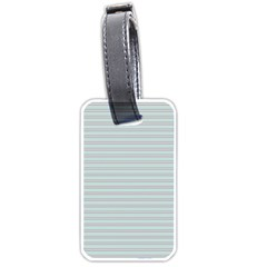 Decorative Lines Pattern Luggage Tags (one Side)